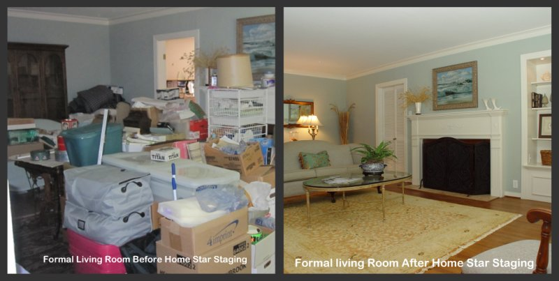 Home star staging 5 thoughts you may have when considering for Minimalism before and after