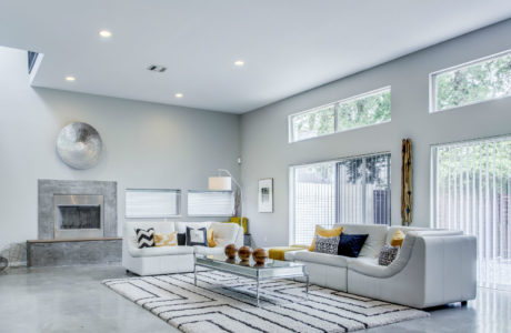 Staged Living Room in Homes For Sale In Dallas